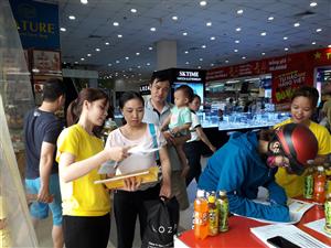 Hoạt động bình chọn  Hàng Việt Nam được người tiêu dùng yêu thích năm 2019 thu hút đông đảo người tiêu dùng tham gia bình chọn.