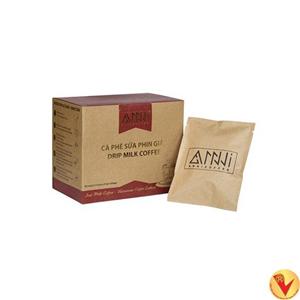 (10)-9: Cà phê sữa Phin giấy Anni Coffee (Drip Milk Coffee)