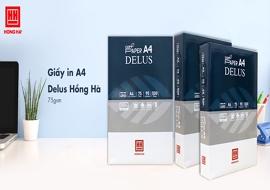 (08)-1: Giấy in/photo Hồng Hà Delus